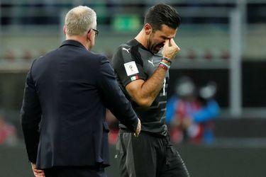 """Buffon: """"Lamento que mi último partido oficial haya sido una eliminación para la Copa del Mundo"""""""