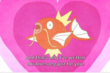 Una canción para el pokémon más inútil de todos: Magikarp