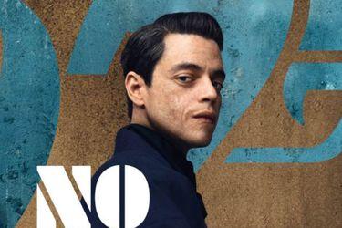 El primer vistazo al villano de Rami Malek en los pósters de No Time to Die