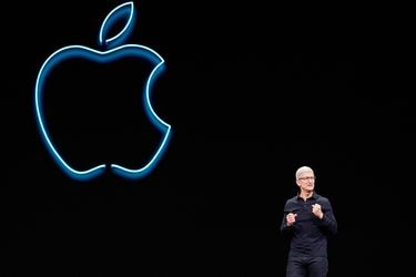 Apple CEO Tim Cook speaks during Apple's annual Worldwide Developers Conference in San Jose