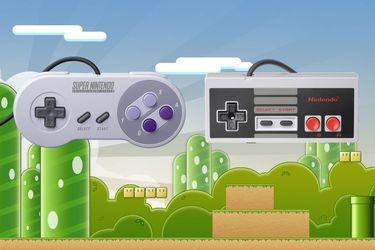 Los controles de la SNES Classic y la NES Classic son intercambiables entre sí