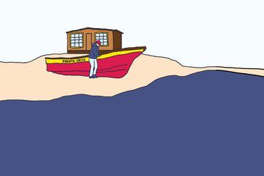 """Elegir el aislamiento: """"No he salido de esta caleta en toda mi vida porque no necesito más que el mar"""""""