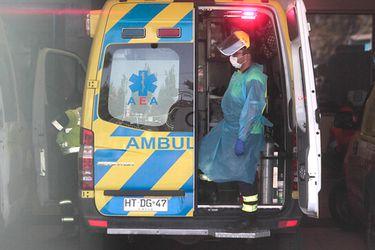 Personal de ambulancias protestan por demora en atención de pacientes en el Hospital El Pino