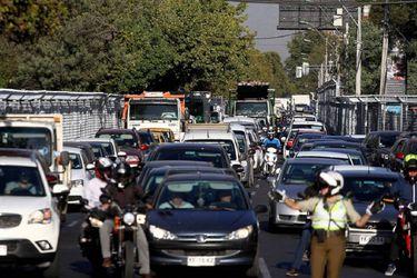 Este lunes se inicia calendario de restricción vehicular 2021