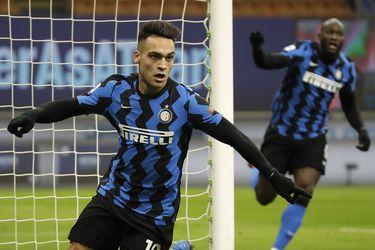 El Inter se pone líder con goles de Lukaku y Lautaro