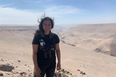 Karolina Araya, la conservacionista chilena premiada internacionalmente por proteger al Picaflor de Arica