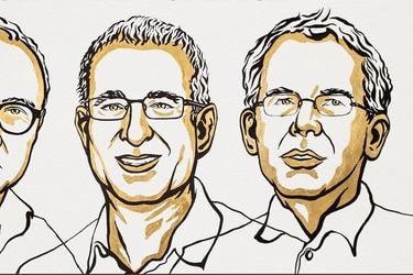 """Nobel de Economía 2021: los tres pioneros en """"experimentos naturales"""" que se quedaron con el premio y sus nexos con Chile"""