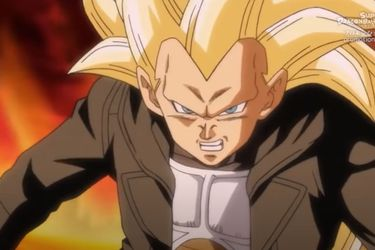 El anime de Super Dragon Ball Heroes presenta a Vegeta Super Saiyajin Fase 3
