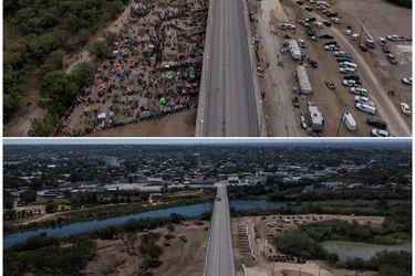 EE.UU. dice que ya no quedan migrantes haitianos debajo de puente en la frontera con México