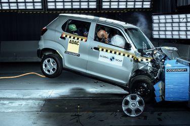 Global NCAP chocó el Suzuki S-Presso, el Hyundai i10 y el Kia Seltos, y así les fue...