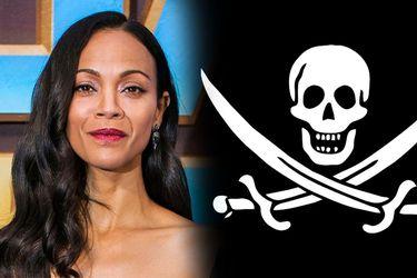 Netflix producirá The Bluff, una película en donde Zoe Saldana luchará contra piratas en el caribe