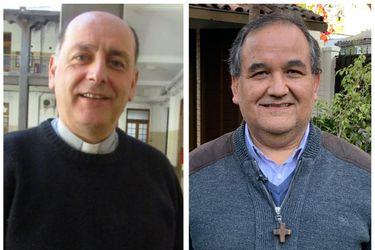 """Larrondo y Bravo: Los curas """"de calle y periferia"""" que el Papa eligió como nuevos obispos de Chile"""