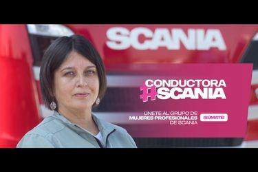 Scania Chile lanza concurso para mujeres conductoras