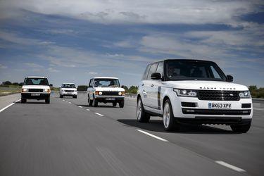 Range Rover: medio siglo de off-road
