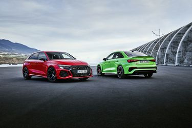 Nuevos Audi RS 3 Sedán y Sportback: el motor pentacilíndrico ahora crecido a los 400 Hp