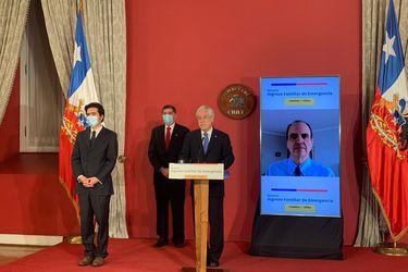 Piñera da el vamos al Ingreso Familiar de Emergencia 2.0, y deja la puerta abierta a nuevas medidas si es que la crisis empeora