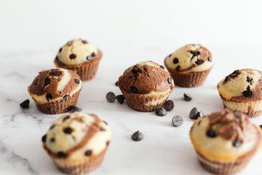 Aprende a hacer muffins marmolados