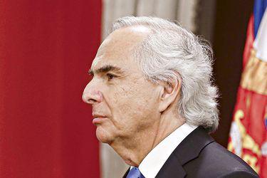 El exministro Andrés Chadwick.