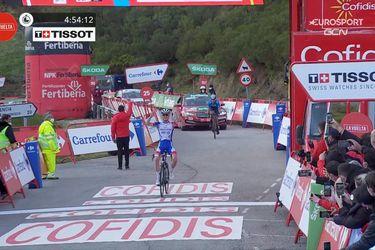 David Gaudu gana la montañosa etapa 11 de la Vuelta a España