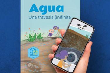 Libro interactivo promueve el cuidado del agua subterránea a través juegos e imágenes tridimensionales