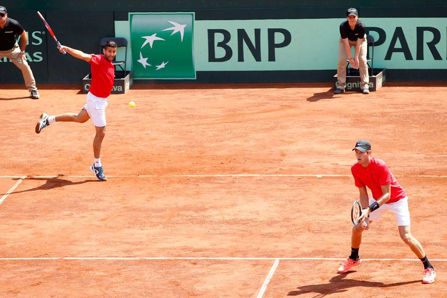Copa Davis, Nicolás Jarry, Hans Podlipnik