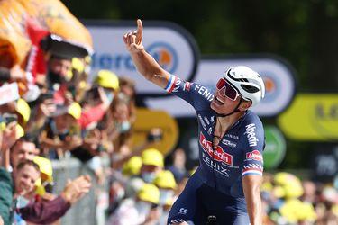 Tour de Francia: Van der Poel domina el Muro de Bretaña y es el nuevo líder
