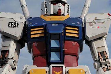 Gundam RX-78-2: el robot más grande del mundo da sus primeros pasos