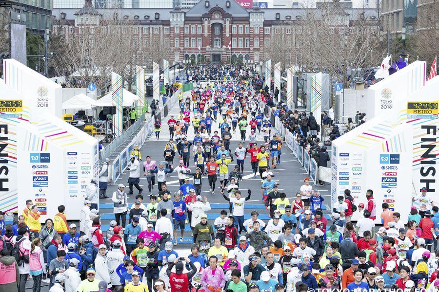 marathon tokio