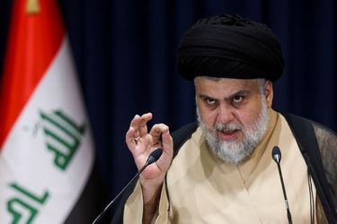Clérigo chiita Moqtada al-Sadr emerge como figura clave después de las elecciones en Irak