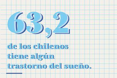 63,2% de los chilenos tiene algún trastorno del sueño