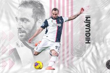 Inter Miami hace oficial la incorporación de Gonzalo Higuaín