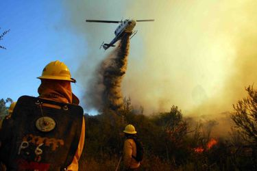 La flota aérea que combatirá los incendios forestales