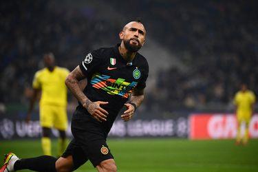 """Inzaghi, DT de Inter: """"Vidal jugó el partido que queríamos en la Champions League"""""""