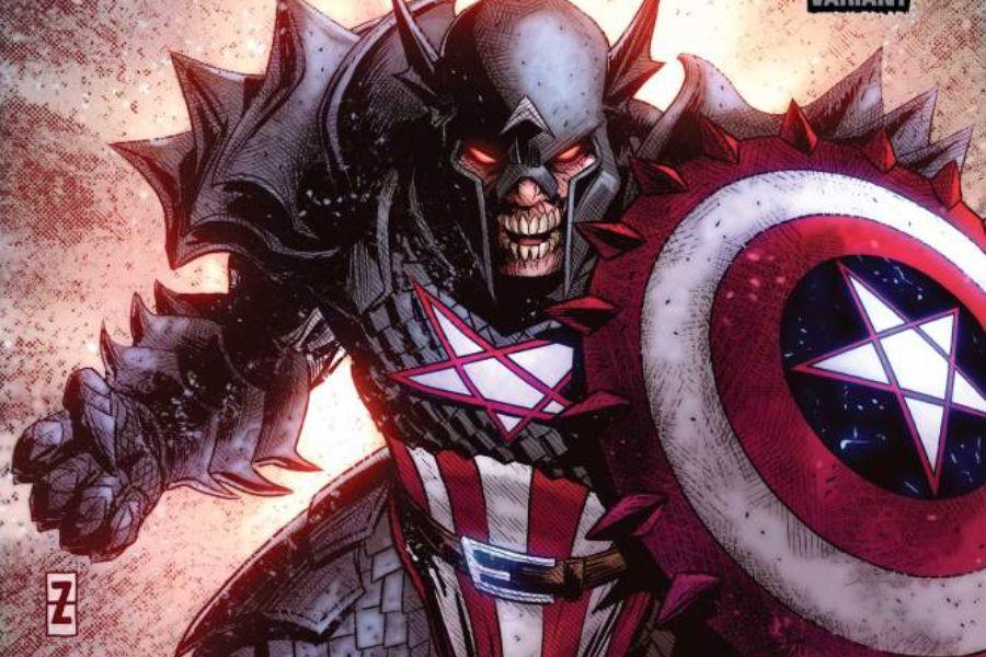 marvel dark capitan america