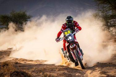 Pablo Quintanilla queda a un paso de la cima en el Rally de Marruecos