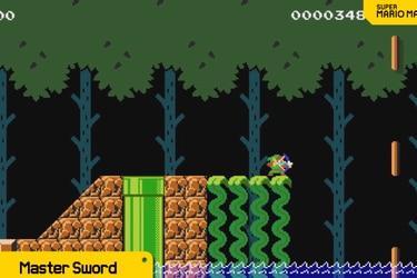 Ahora podrás jugar como Link en Super Mario Maker 2