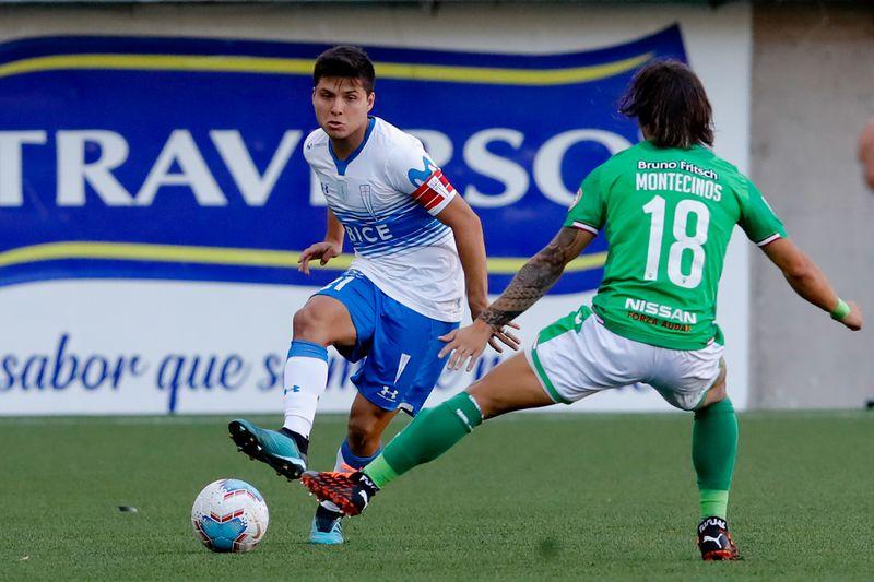 Raimundo Rebolledo fue capitán de Universidad Católica ante Audax Italiano, el 27 de diciembre de 2020. Catuto ya suma cinco títulos de Primera División con los cruzados y sueña con jugar en la Premier League de Inglaterra.