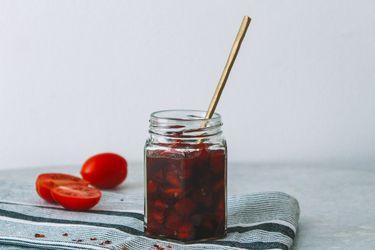 Cómo hacer mermelada de tomate, ají y jengibre