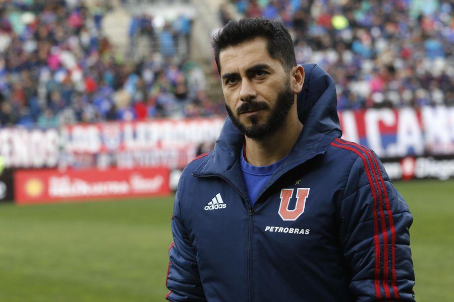Johnny Herrera en su época de jugador de la U
