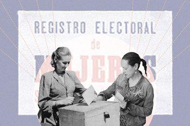 """La importancia del voto femenino: """"Los grupos que no participan están delegando en otros su participación"""""""