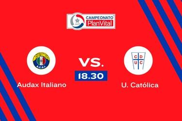 Audax Italiano vs. Universidad Católica