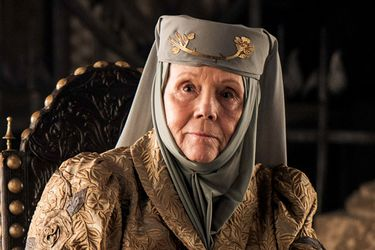 Fallece Diana Rigg, actriz que interpretó a Olenna Tyrell en Game of Thrones