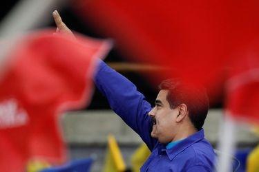 Venezuela's President Nicolas Maduro attends an event with supporters of Somos Venezuela (We are Venezuela) movement in Caracas