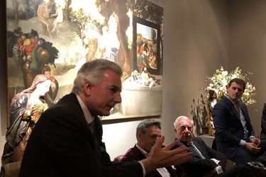 """Sin Kaiser, pero con Vargas Llosa, Lagos y Piñera: Así fue la glamorosa velada del """"liberalismo"""""""