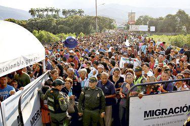 Migrantes venezolanos en Colombia llegarían a dos millones en 2020