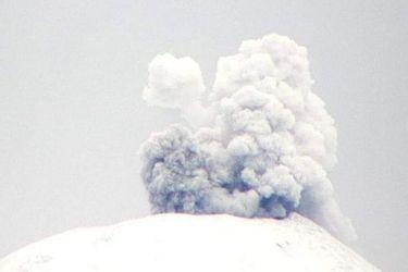 Se registra explosión en el cráter del Volcán Villarrica