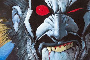 La clásica portada de Lobo creada por Simon Bisley fue vendida por casi $200 mil dólares