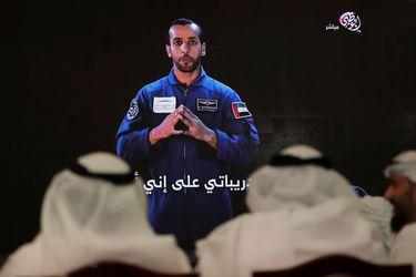 El astronauta que hace historia para los Emiratos Árabes Unidos