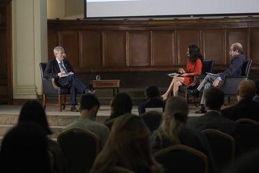 Críticas a Sichel y apertura a conversar su programa: las definiciones de Kast en el ciclo Presidenciales en la UC-La Tercera
