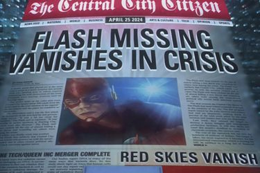La desaparición de Flash será clave en el próximo crossover del Arrowverso